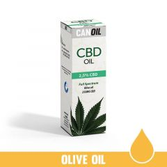 Canoil - CBD Oil - Olive oil - 2,5% - 10 ml