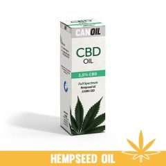Canoil - CBD Oil - Hemp seed oil - 2,5% - 10 ml
