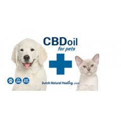 Dutch Natural Healing - CBD Oil for pets - 2%