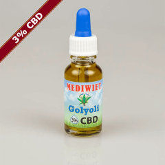 Mediwiet - CBD Oil - Golyoli - 3% - 10ml