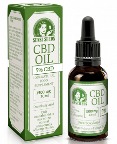Sensi Seeds CBD oil 5% (1500 mg) - 30ml